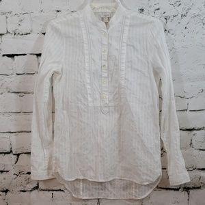 J. Crew gorgeous white blouse